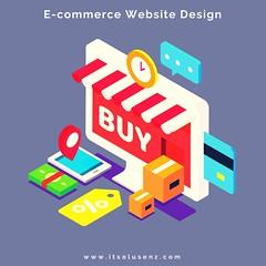 E-commerce Website Design - ITSolusenz - 10.08.2017