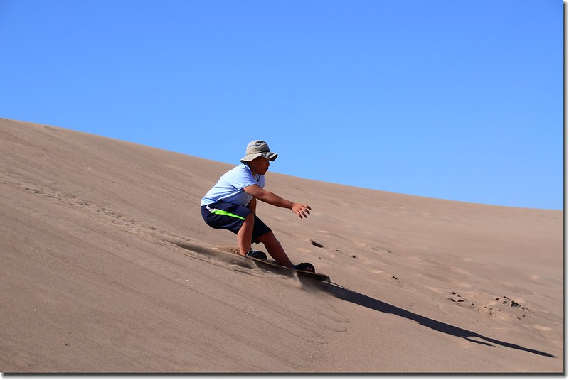 Sledding at Great Sand Dunes  (22)