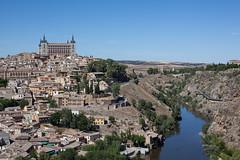 Overlooking Toledo, Spain