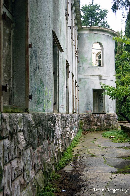 Фрагмент резиденции Бизанти