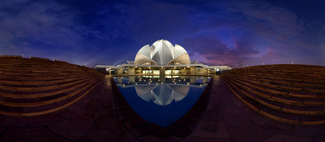 Happy World Photography day -Lotus Temple