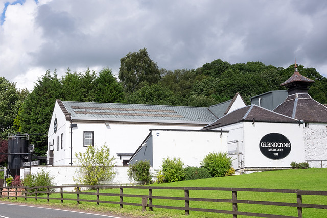 Dinsdag: Dumgoyne: Glengoyne Distillery