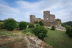 Saissac Cathare Castle, Occitanie, France
