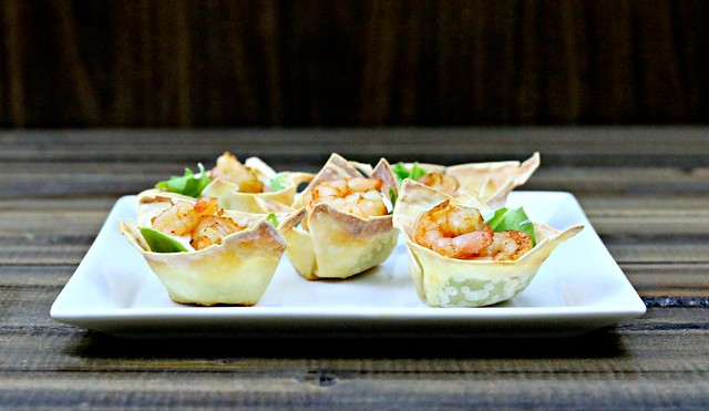 Chili Lime Shrimp Cups Front