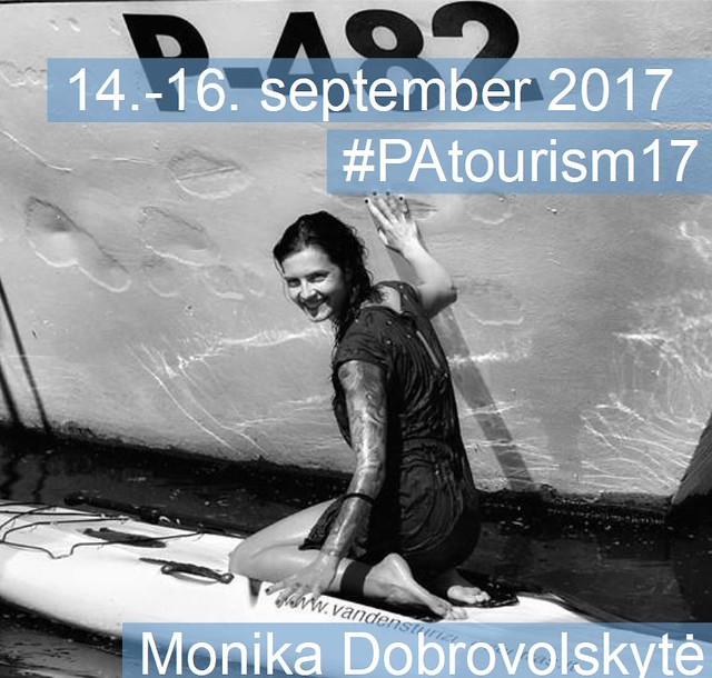 Monika Dobrovolskytė - speaker at #PAtourism17