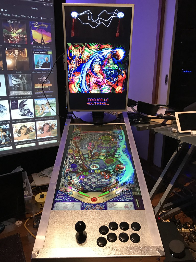 Virtual Pinball Build
