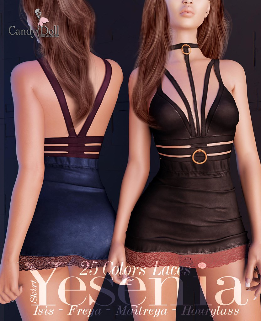 Naughty and PG version in 1 pack...  Wich one is you!? Fameshed http://maps.secondlife.com/secondlife/FaMESHed/120/123/3488 - SecondLifeHub.com