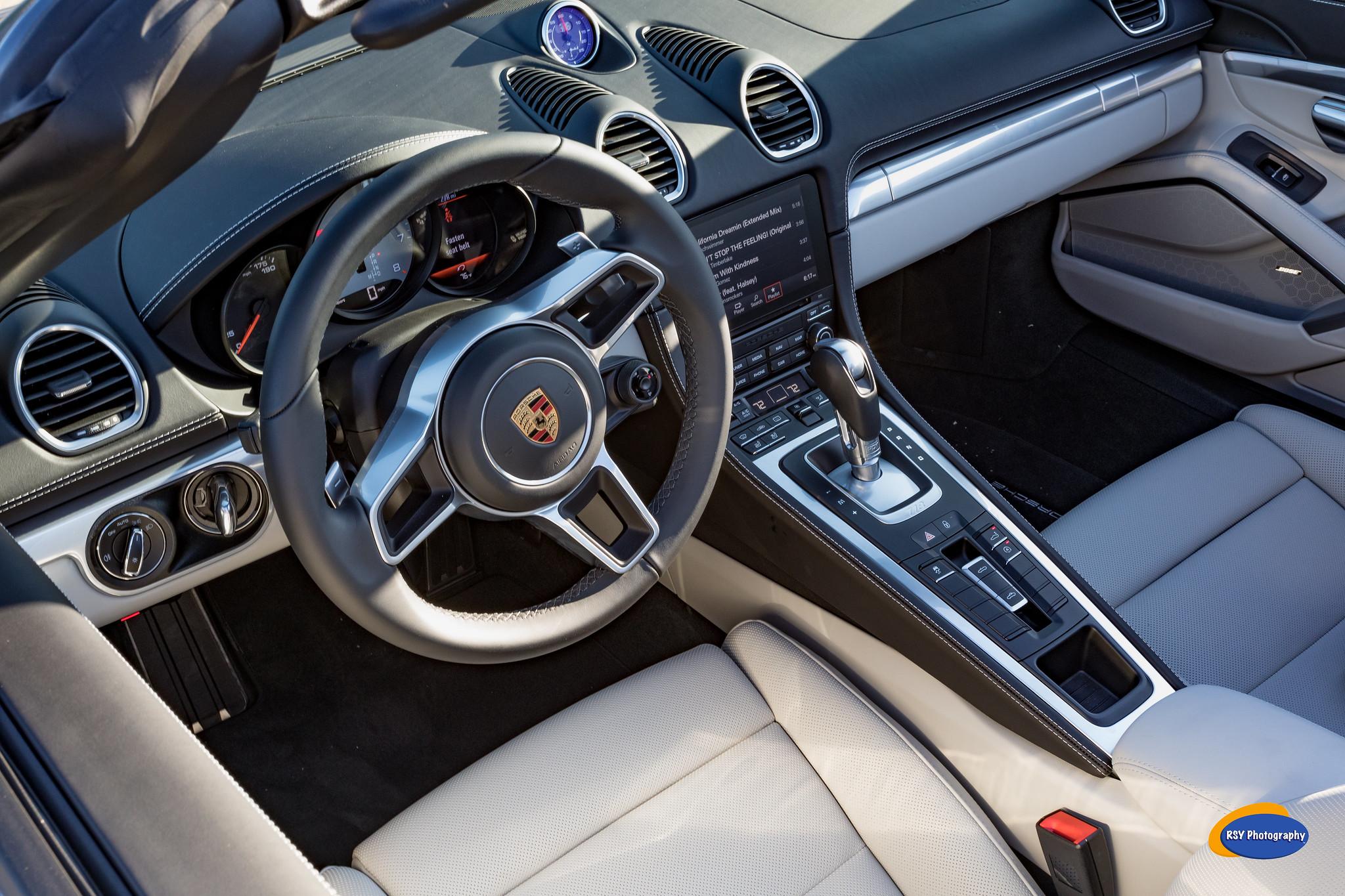 Porsche 718 Boxster >> My Graphie Blue 718 Boxster S