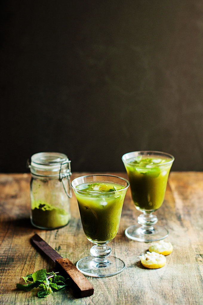 Day 154/365 - Matcha Lemonade