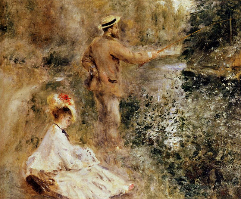 The Fisherman by Pierre Auguste Renoir, 1874