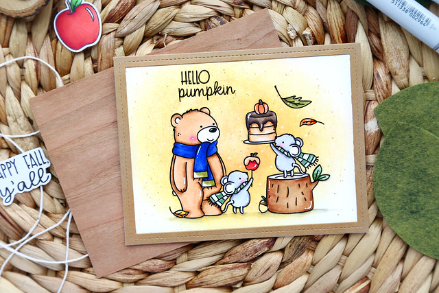 STAMPtember: Hello Pumpkin
