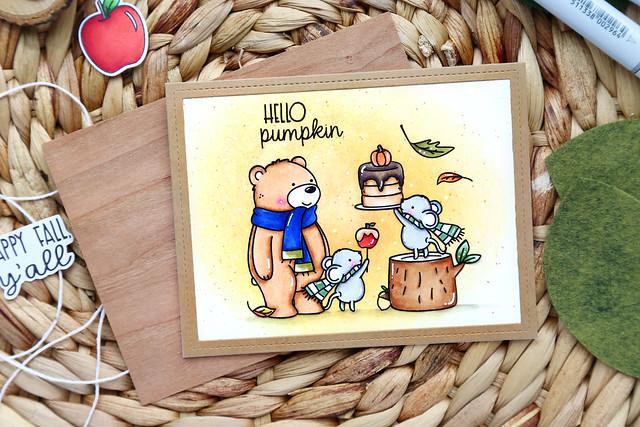 STAMPtember: Hello Pumpkin