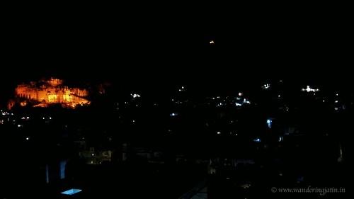 Bundi city scape at Night