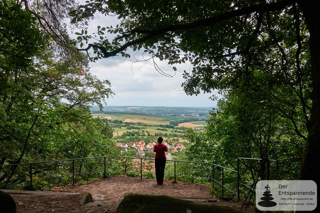 Oberbronn: Am Buckelstein im Elsass