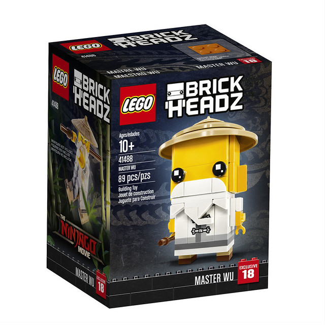 The LEGO Ninjago Movie - BrickHeadz  3