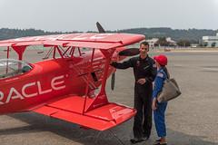 Oracle Stunt Bi-Plane and Sean Tucker