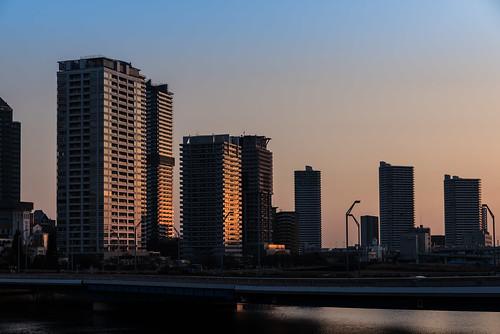 みなとみらい 朝 横浜 風景 sunrise apartment highriseapartment minatomirai yokohama kanagawa japan