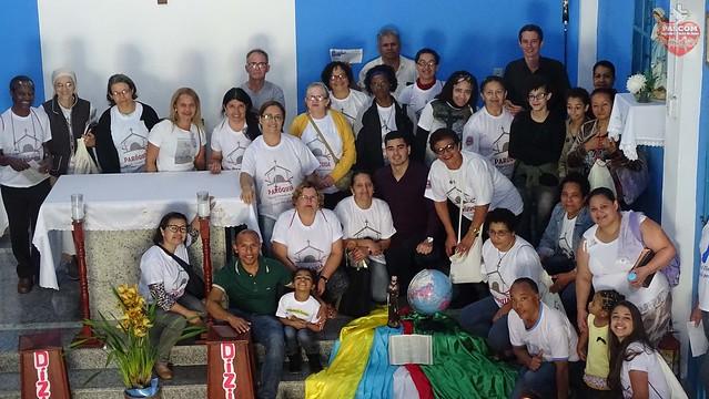 """""""Igreja em Saída"""". Missão na Comunidade Nossa Senhora da Esperança com inicio ao Tríduo."""