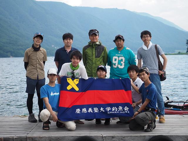 釣魚会夏遠征2017集合写真