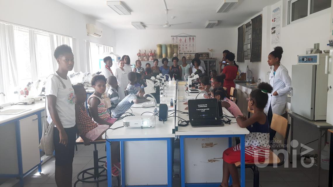 Docentes e Estudantes da Uni-CV apoiam o programa ATL Municipal - Cidadão Mirim