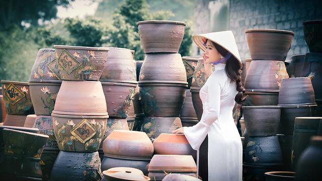 ao dai non la lam gom - linh van dinh (6)