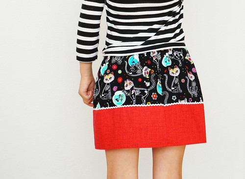 So Flippin' Cute skirt
