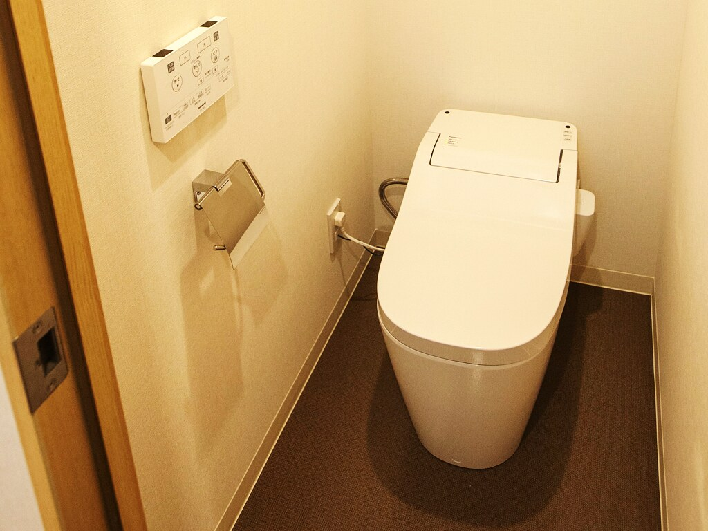 リノベーション後:トイレ