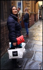 Canon EOS 60D - My wife Lisa shopping in Bristol