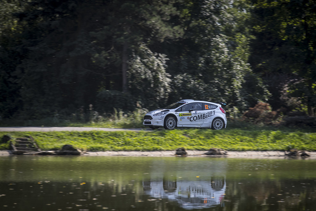 12 MOFFETT Josh (IRL) FULTON James (IRL) Ford Fiesta R5 action during the 2017 European Rally Championship ERC Barum rally,  from August 25 to 27, at Zlin, Czech Republic - Photo Gregory Lenormand / DPPI