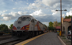 Santa Fe, NM Rail Runner (# 0955)