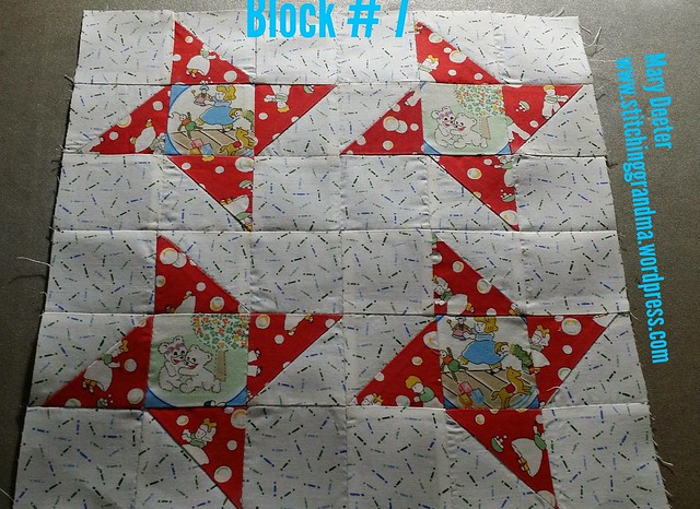 Block 7 Grandma's Kitchen, pattern by Pat Sloan