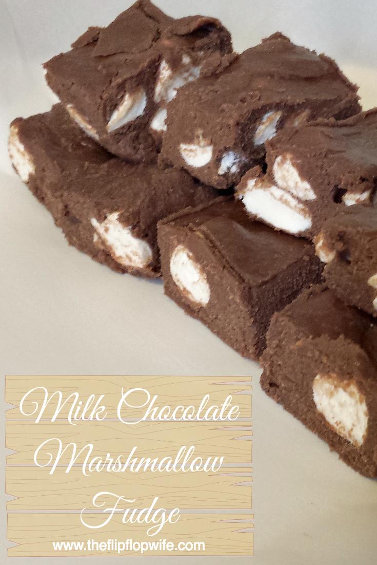 Milk Chocolate Marshmallow Fudge