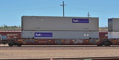 AOK54997 53ft well with FedEx 53ft containers