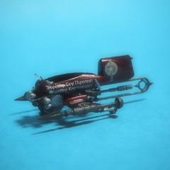 【模型】 ヴェスパ  -ラストエグザイルにおける超小型飛行機械-