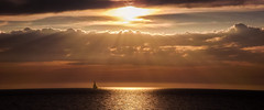 A sunset from Sirata Beach Resort.