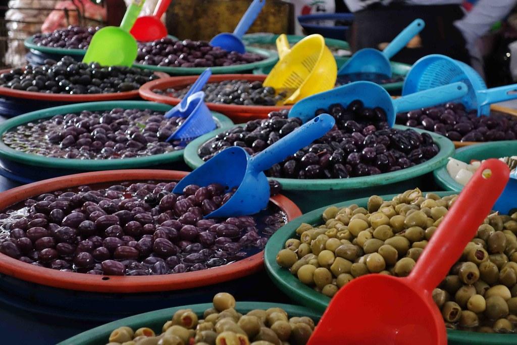 Arica - Mercado - Olives