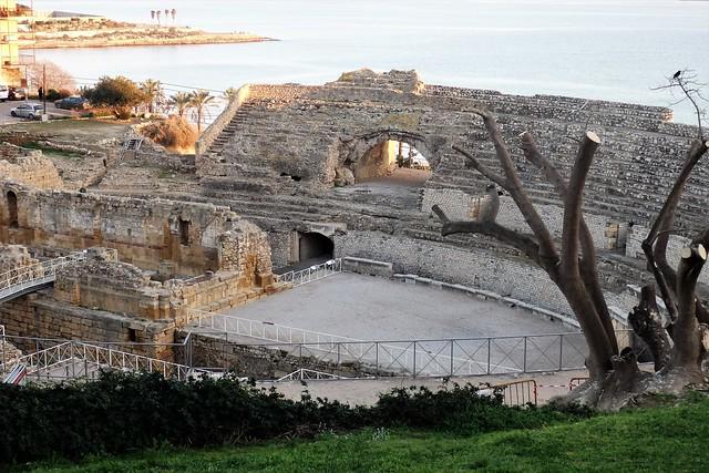 Teatro romano de Tarragona.