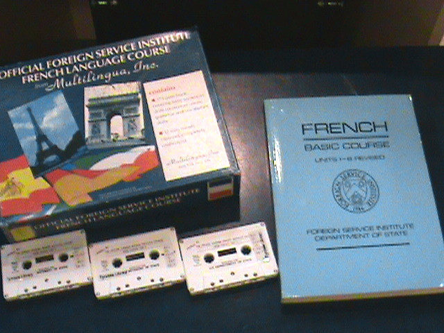 The Official Foreign Service Institute French language course