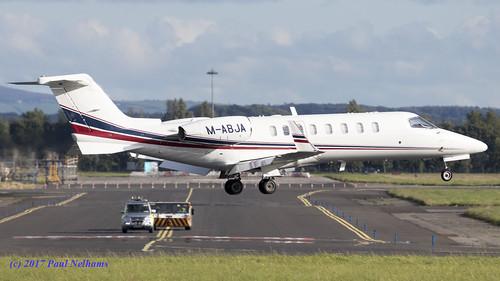 mabja learjet learjet45 learjetcorp landing ryanair aog jet bizjet corporatejet