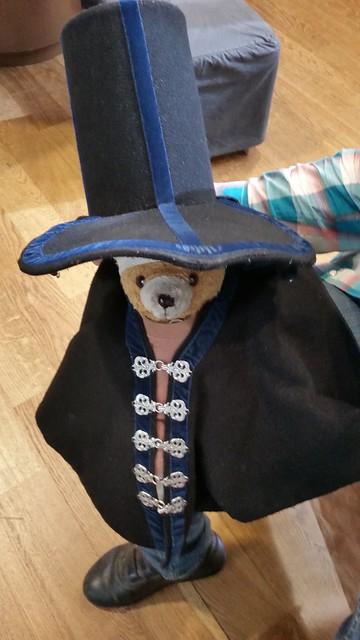 Kuma in Costume