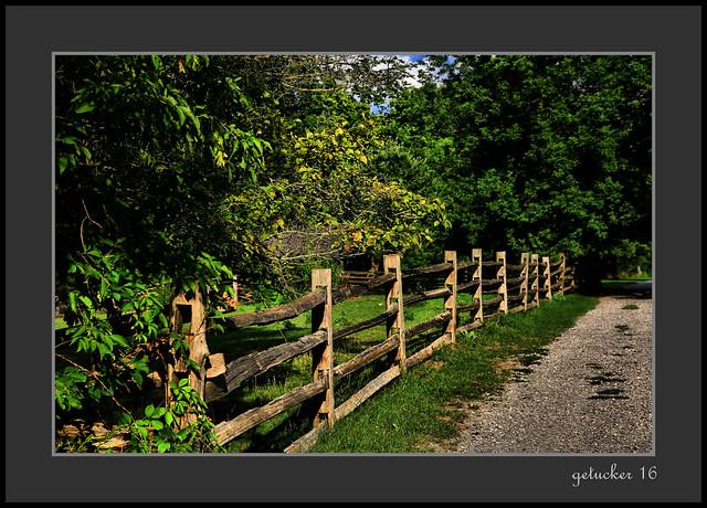 Fence at Chippewa Nature Center