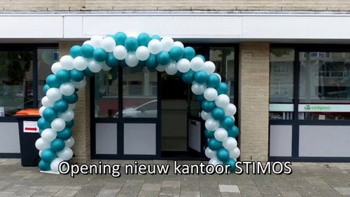 Ballonboog 6m Opening Stimos Spijkenisse