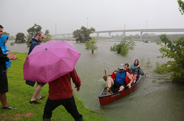 USA : Tropical Storm Harvey brings 'historic' floods to Houston