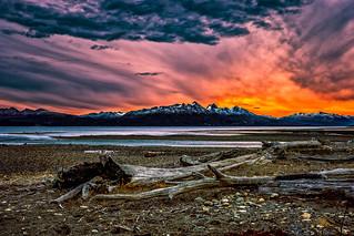 Sunset Tierra Del Fuego