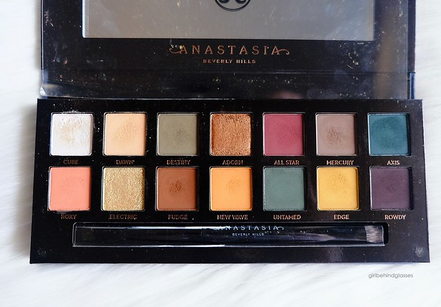 Anastasia Beverly Hills Subculture palette 1 week after
