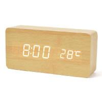 FiBiSonic デジタル LED 目覚し時計