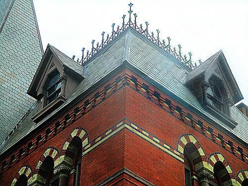 Sage Hall corner