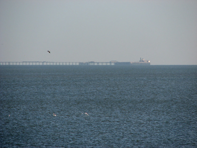 Southend Pier from Canvey Island