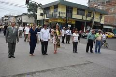 Desfile Cívico por lo 50 años de la Unidad Educativa Amazonas