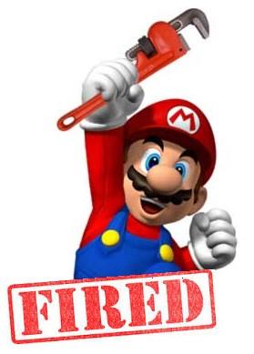 Plumber Loses Job